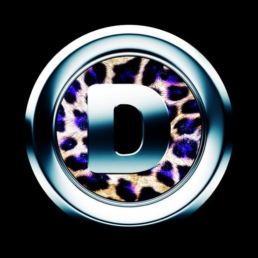icon letter D