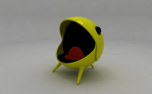 pacman-game-chair